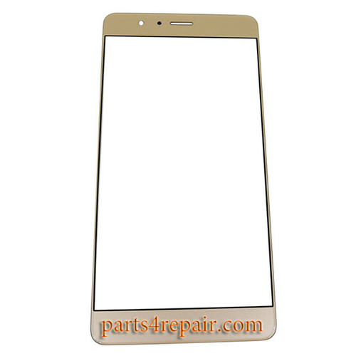 Front Glass for Huawei Honor V8 -Gold
