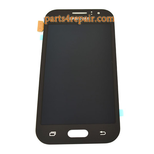 Complete Screen Assembly for Samsung Galaxy J1 Ace -Black