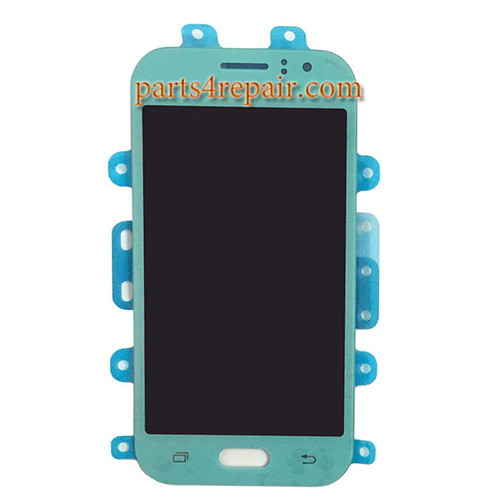 Complete Screen Assembly for Samsung Galaxy J1 Ace -Blue