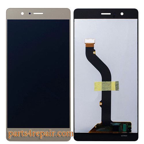 Complete Screen Assembly for Huawei P9 Lite -Gold