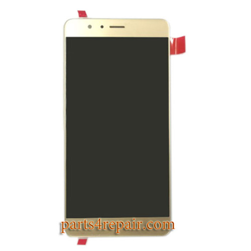 Complete Screen Assembly for Huawei Honor V8 -Gold