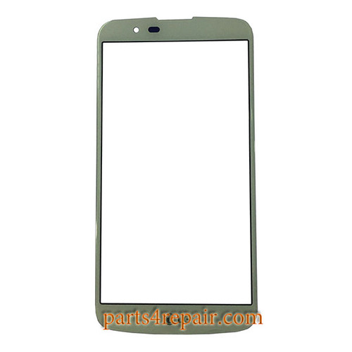 Front Glass OEM for LG K10 -White