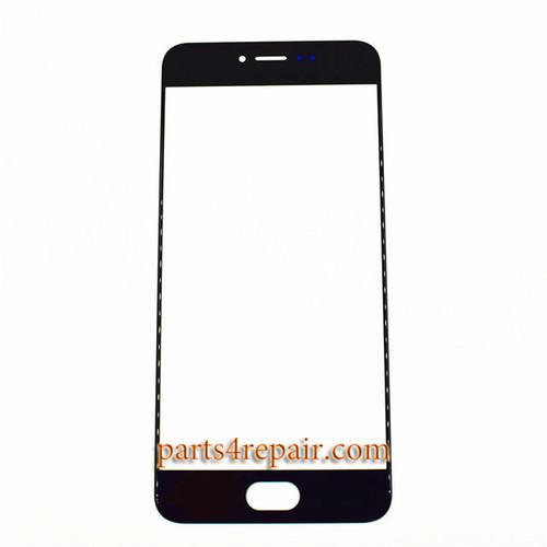 Front Glass OEM for Meizu Pro 6 -Black