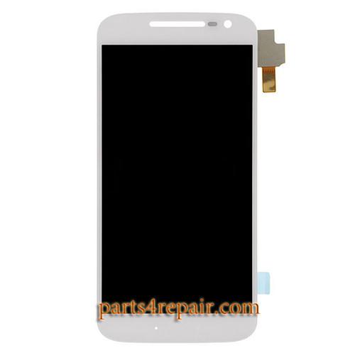 Complete Screen Assembly for Motorola Moto G4 -White