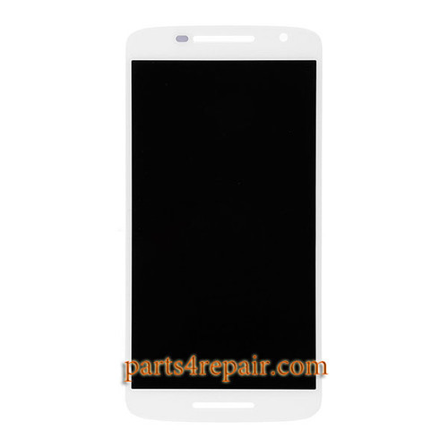 Complete Screen Assembly for Motorola Droid Maxx 2 XT1565 -White