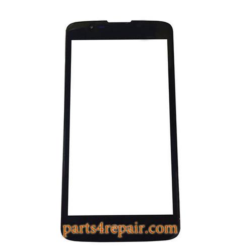 Front Glass OEM for LG K7 -Black