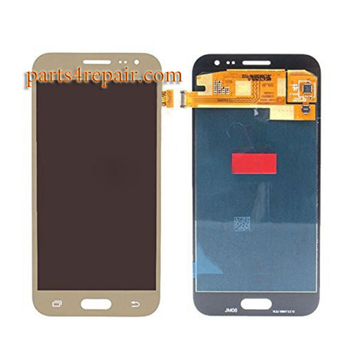 Complete Screen Assembly for Samsung Galaxy J2 All Versions -Gold