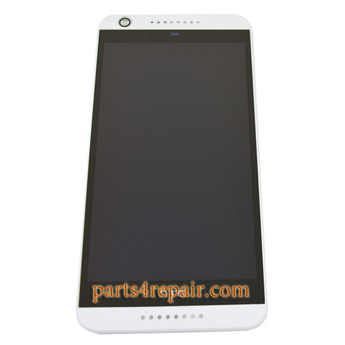 Complete Screen Assembly with Bezel for HTC Desire 626 -White