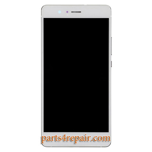 Complete Screen Assembly with Bezel for Huawei P9 Lite -White
