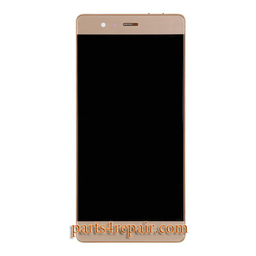 Complete Screen Assembly with Bezel for Huawei P9 -Gold