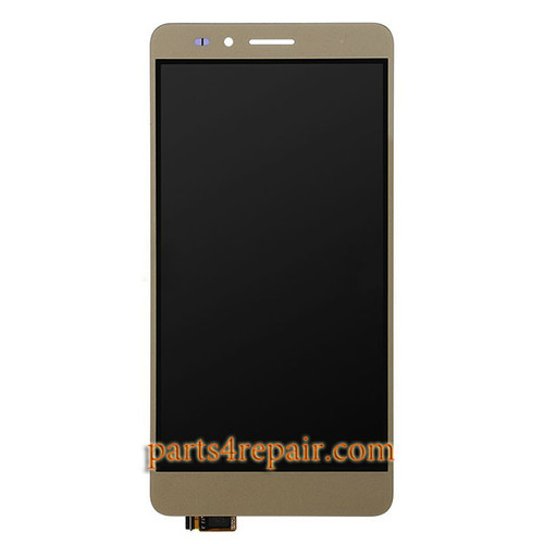 Complete Screen Assembly for Huawei Honor 5X (3GB RAM) -Gold