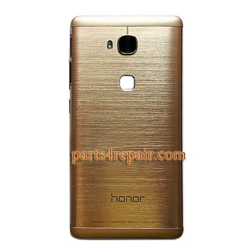 Back Cover with Side Keys for Huawei Honor 5X -Gold