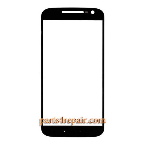 Front Glass OEM for Motorola Moto G4 -Black
