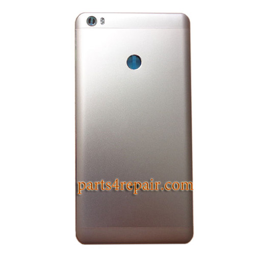 Back Housing Cover with Side Keys for Xiaomi Mi Max -Gold