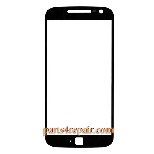 Front Glass OEM for Motorola Moto G4 Plus -Black