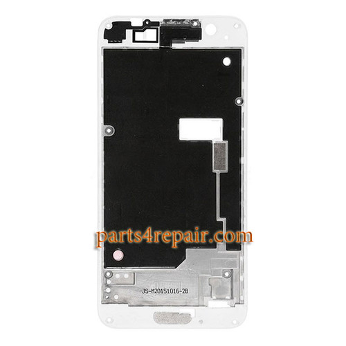 Front Housing Cover for HTC One A9 -White