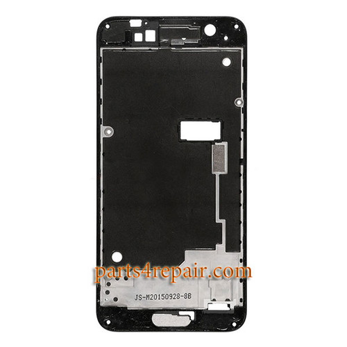 Front Housing Cover for HTC One A9 -Black