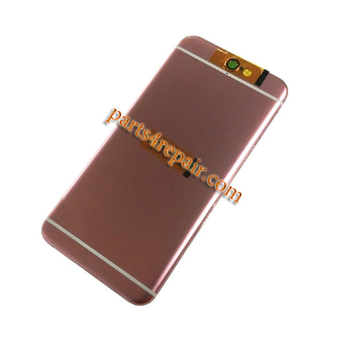 Back Housing Cover with Side Keys for HTC One A9 -Pink