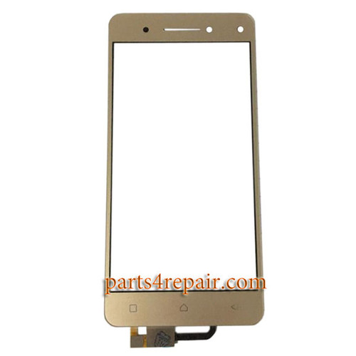 Touch Screen Digitizer for Lenovo Vibe S1 -Gold