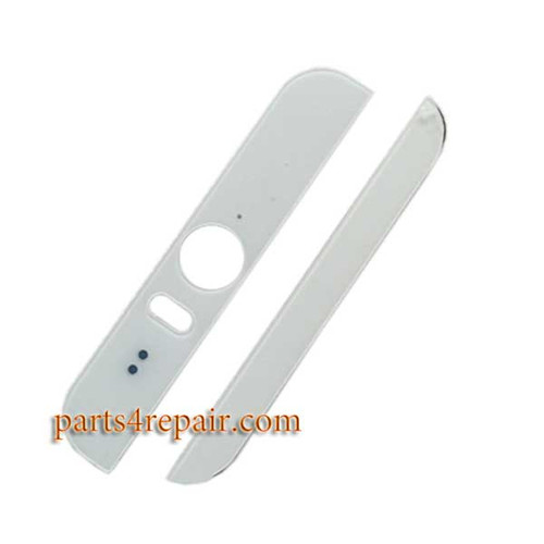 Top Cover and Bottom Cover for HTC Desire Eye -White