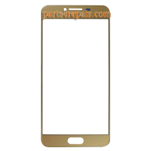 Front Glass OEM for Samsung Galaxy C5 -Gold