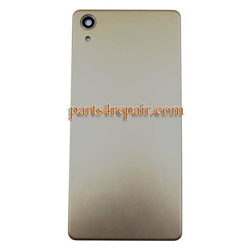Back Cover for Sony Xperia X Performance -Gold