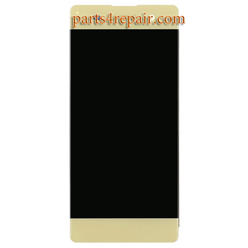 Complete Screen Assembly for Sony Xperia XA -Lime Gold