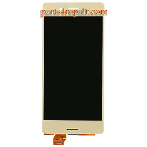 Complete Screen Assembly for Sony Xperia X -Lime Gold