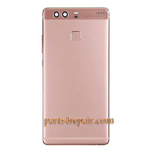 Back Housing Cover with Side Keys for Huawei P9 -Rose Gold