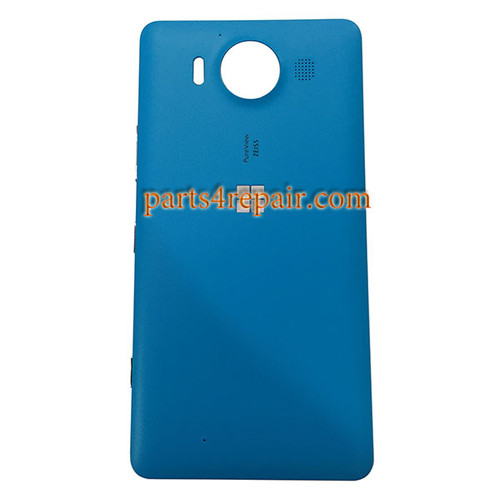 Back Housing Cover with Side Keys OEM for Microsoft Lumia 950 -Blue