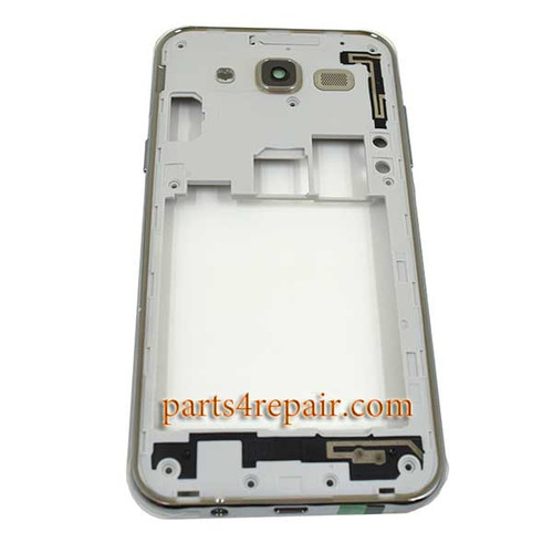 Middle Housing with Side Keys for Samsung Galaxy J5 -Gold