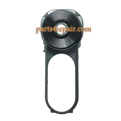 Camera Lens & Camera Cover for LG V10 All Versions -Black