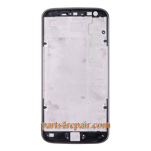 Front Housing Cover for Motorola Moto G4 -Black