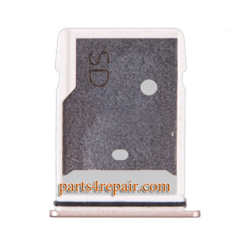 SD Card Tray for HTC 10 -Gold