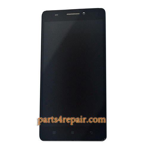 Complete Screen Assembly with Bezel for Lenovo K3 Note (K50-T5) -Black