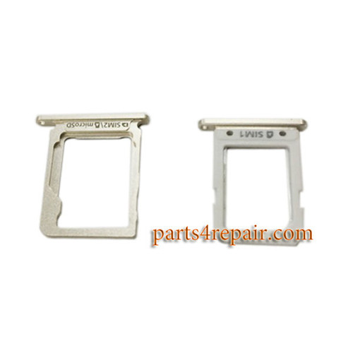 SIM Tray & MicroSD Tray for Samsung Galaxy A8 -Gold