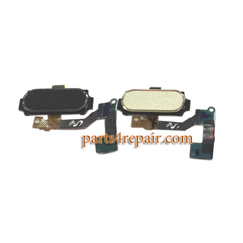 Home Button Flex Cable for Samsung Galaxy A8 -White