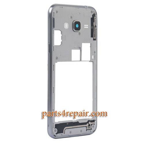 Middle Housing Cover for Samsung Galaxy J3 (2016) J3109 -Black