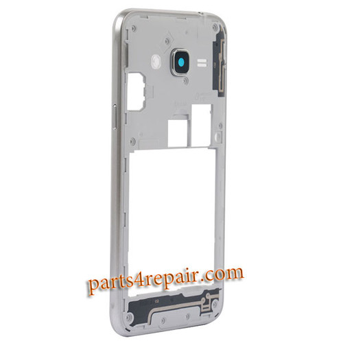 Middle Housing Cover for Samsung Galaxy J3 (2016) J3109 -Silver
