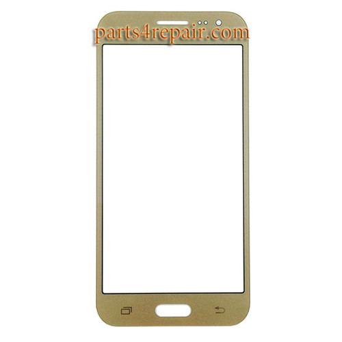Front Glass for Samsung Galaxy J2 -Gold