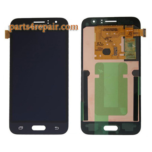 Complete Screen Assembly for Samsung Galaxy J1 (2016) -Black