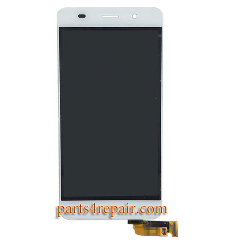 Complete Screen Assembly for Huawei Honor 5A -White