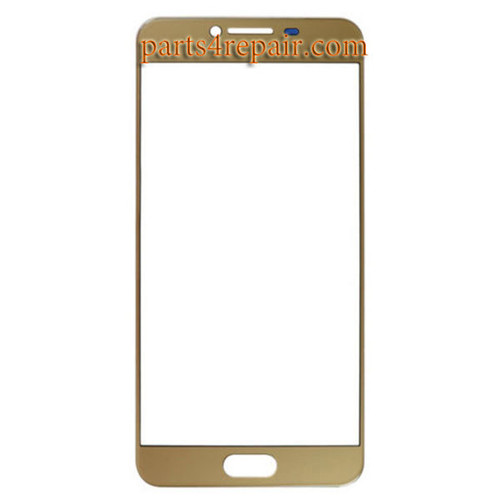 Front Glass OEM for Samsung Galaxy C7 -Gold