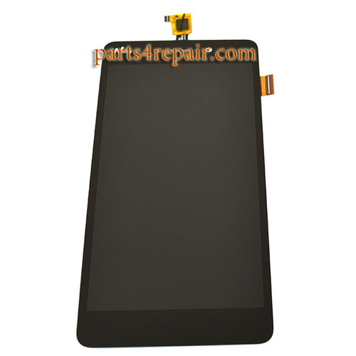 Complete Screen Assembly for Wiko Pulp Fab 4G