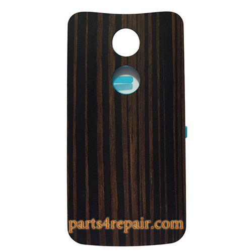 Back Housing with Adhesive for Motorola Moto X2 -Ebony