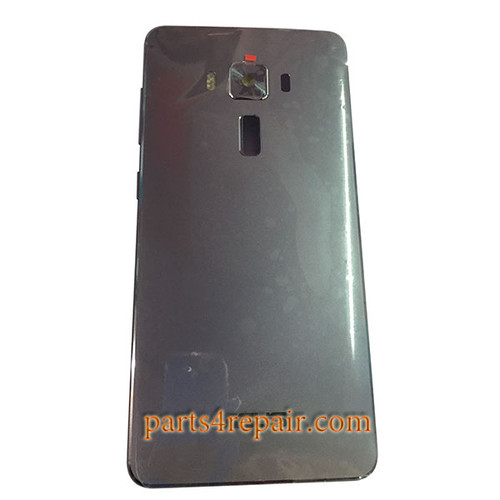 Back Housing with Side Keys for Asus Zenfone 3 Deluxe ZS570KL -Gray