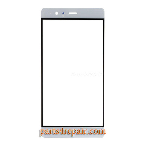 Front Glass OEM for Huawei P9 Plus -White