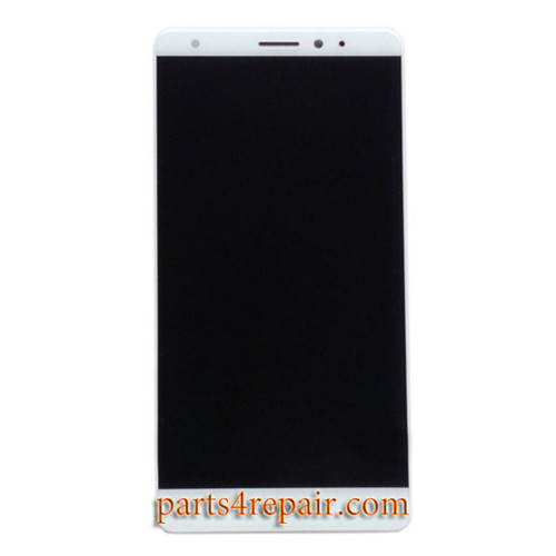 Complete Screen Assembly for Huawei Mate S -White