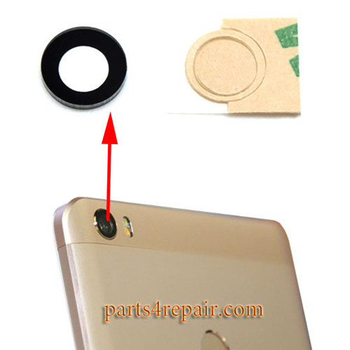 Camera Glass Lens with Adhesive for Xiaomi Mi Max
