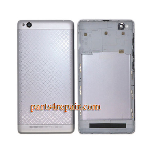 Back Housing with Side Keys for Xiaomi Redmi 3 -Gray